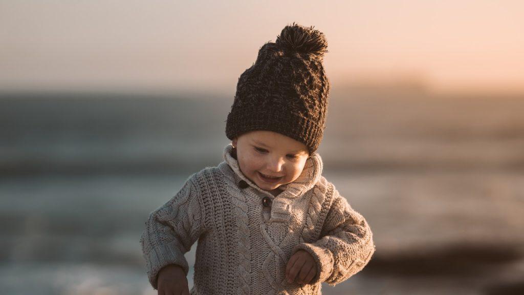 Photo of Toddler at Beach